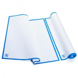 """Paños en Rollo """"Roll Drap"""" Cenefa Azul 52x80cm P80cm (160 Uds)"""