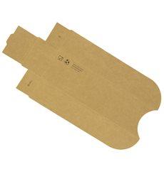 Cuña Kraft Hot Dog 17x5x3,5cm (1000 Uds)