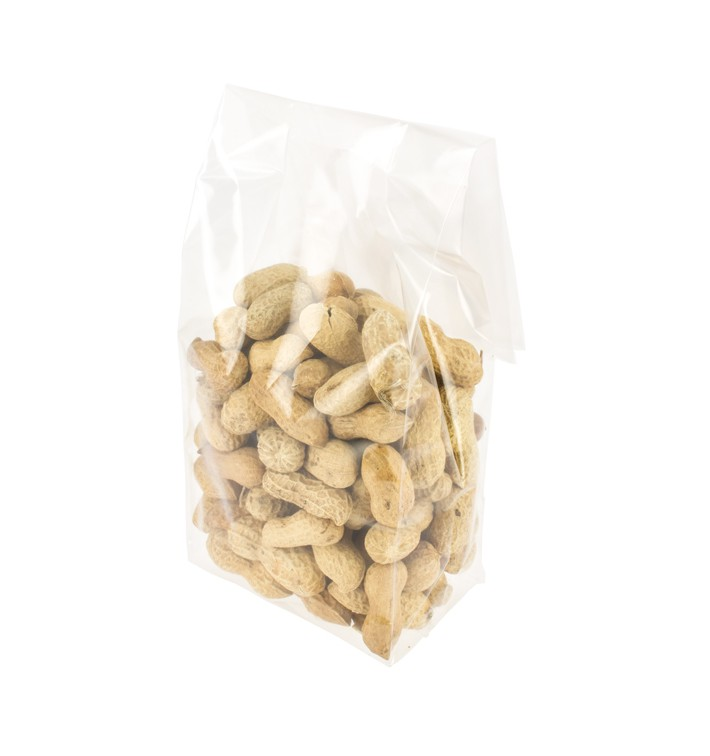 Bolsas Polipropileno Fondo Cuadrado 10x30+6cm G160 (100 Uds)