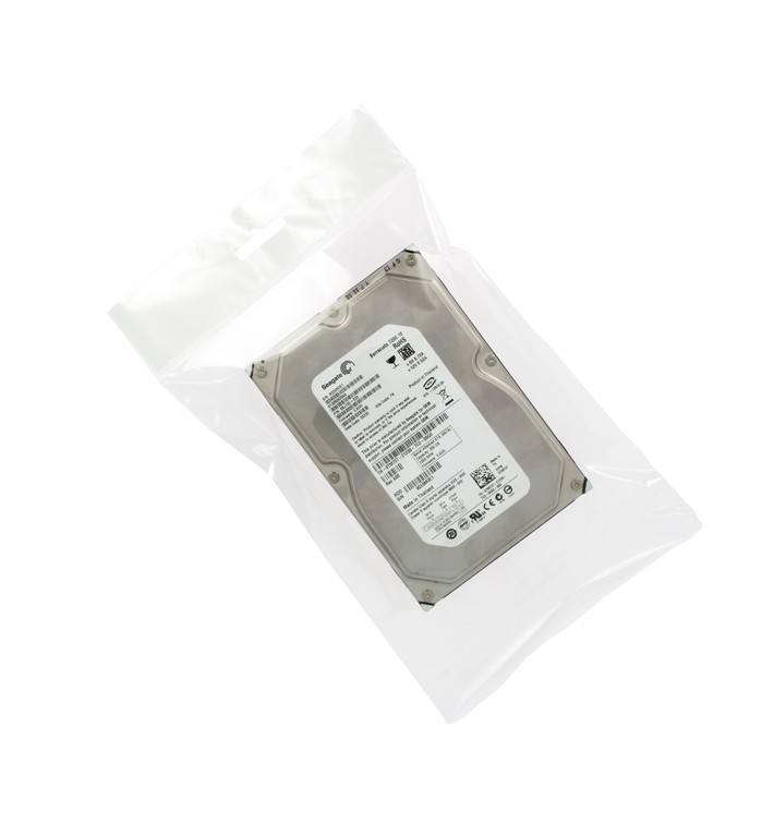 Bolsas POBB Solapa Adhesiva y Eurotaladro 7x10cm G160 (100 Uds)
