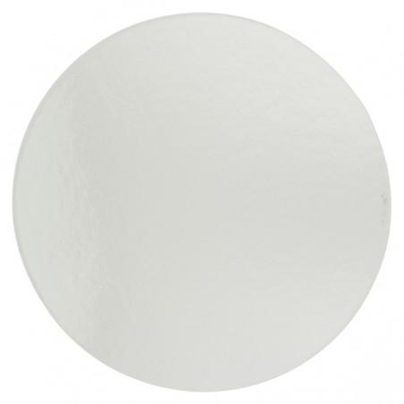 Disco de Carton Oro y Plata 220 mm (100 Uds)