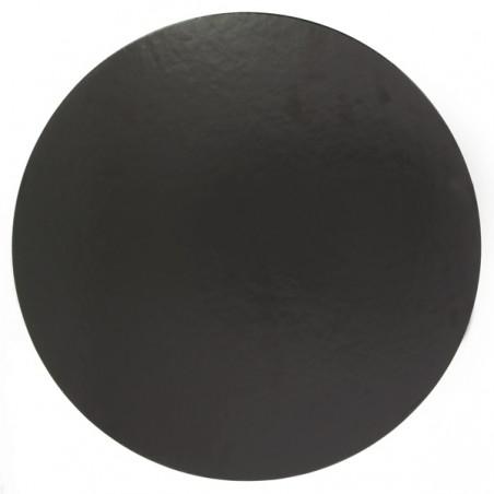 Disco de Carton 2/C Negro 220 mm (100 Uds)