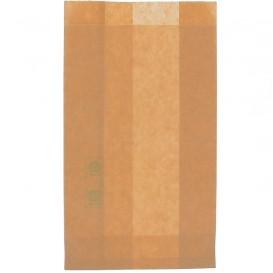 Bolsa para Hamburguesa Antigrasa Kraft 12+6x20cm (1000 Uds)