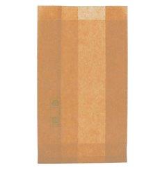 Bolsa para Hamburguesa Antigrasa Kraft 12+6x20cm (250 Uds)