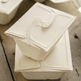 Envase MenuBox Caña de Azúcar 17x13x7cm 750ml. (100 Uds)