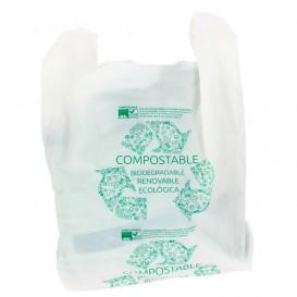 Bolsa Plastico Camiseta 100% Biodegradable 40x50cm (1800 Uds)
