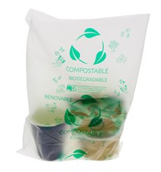 Bolsa Plastico 100 % Biodegradable Block 30x40cm G50 (3000 Uds)