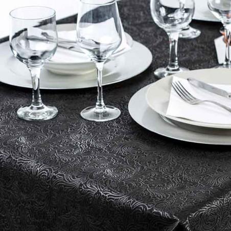 Mantel TNT Plus Negro 120x120cm 60g (150 Uds)