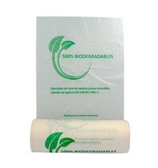Rollo de Bolsas Plastico 100% Biodegradable 22x37cm (500 Uds)