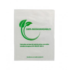 Bolsa Mercado 100% Biodegradable 16x24cm (100 Uds)