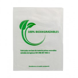 Bolsa Mercado 100% Biodegradable 23x30cm (100 Uds)