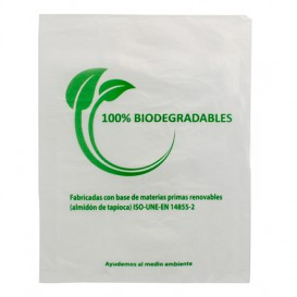 Bolsa Mercado 100% Biodegradable 30x40cm (2000 Uds)