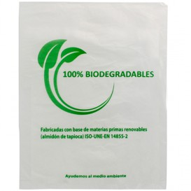 Bolsa Mercado 100% Biodegradable 35x48cm (100 Uds)