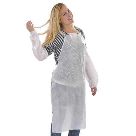 Delantal TST PP Plastificado 60x84cm Blanco (200 Uds)