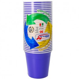 Vaso de Plastico PS Azul 230 ml (690 Uds)