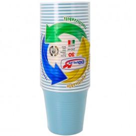 Vaso de Plastico PS Azul Claro 230 ml (30 Uds)