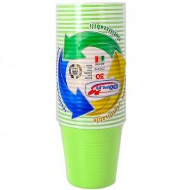 Vaso de Plastico PS Verde Lima 230 ml (690 Uds)