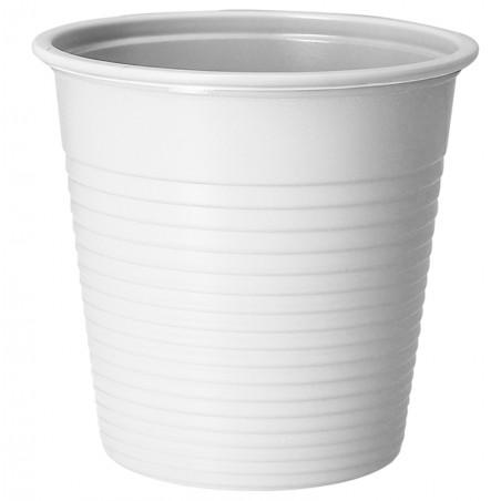 Vaso de Plastico PS Blanco 230 ml (30 Uds)