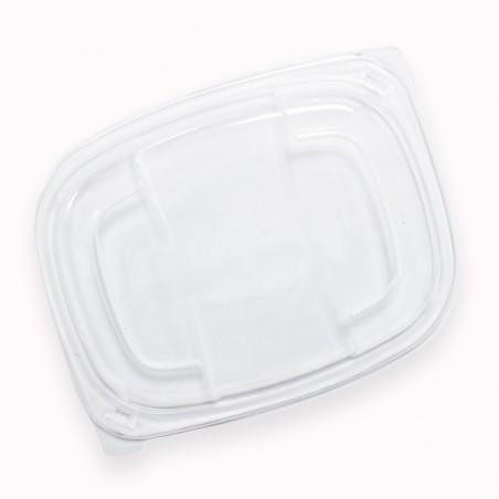 Tapa PP Translúcida Envase 250/350 y 450ml 142x111x20mm (640 Uds)