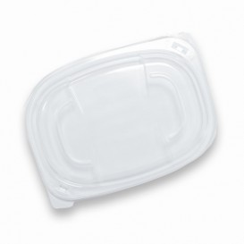 Tapa Translúcida Envase 400/600ml 190x140x20mm (480 Uds)