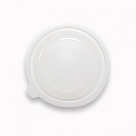 Tapa PP Translúcida para Bol 550ml Ø149x27mm (100 Uds)