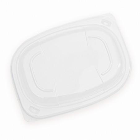 Tapa OPS Transparente Envase 400/600ml 190x140x20mm (20 Uds)