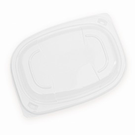 Tapa Transparente Envase 400/600ml 190x140x20mm (480 Uds)