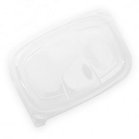 Tapa Translúcida Envase 1050/1250ml 255x189x20mm (20 Uds)