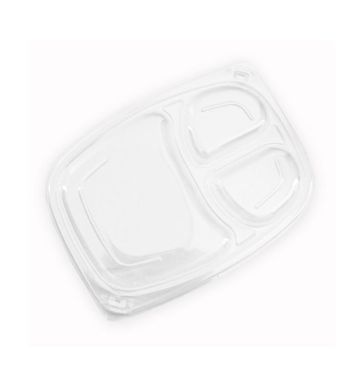 Tapa Transparente Envase 3C 1050/1250ml 255x189x20mm (320 Uds)