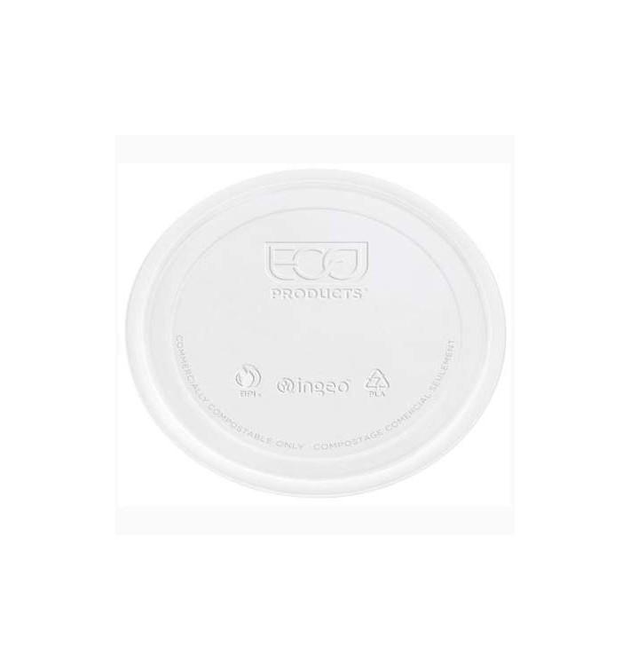 Tapa Tarrina Compostable PLA Transparente 145ml (100 Uds)