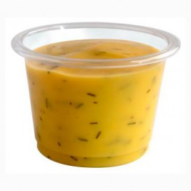 Tarrina para Salsas PLA Transparente 30ml (100 Uds)