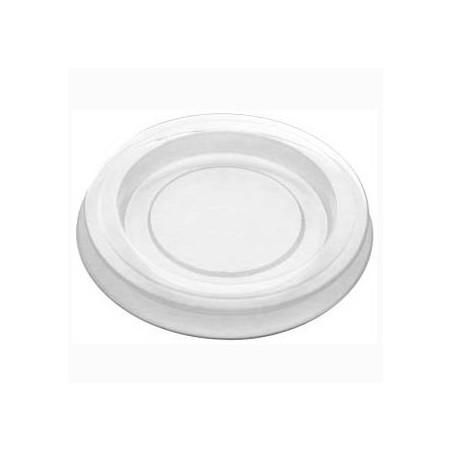 Tapa Tarrina para Salsas PLA Transparente 30ml (200 Uds)