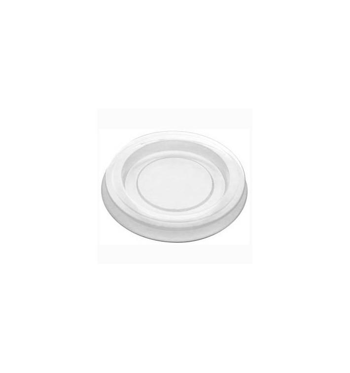 Tapa Tarrina para Salsas PLA Transparente 30ml (100 Uds)