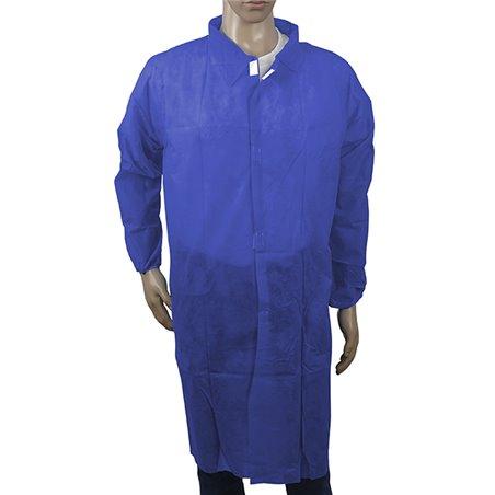 Bata Industria TST PP Con Velcro Azul Oscuro XL (100 Uds)