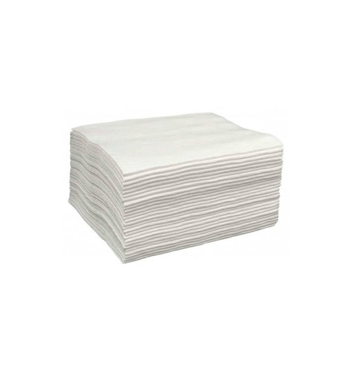 Toalla Spunlace Peluquería Blanca 40x80cm 43g/m² (25 Uds)