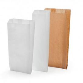 Bolsa de papel Kraft 14+7x24cm (1000 Unidades)