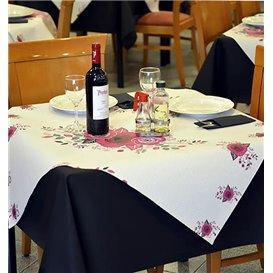 "Mantel de Papel Cortado 1,2x1,2m ""Bouquet"" 37g (300 Uds)"