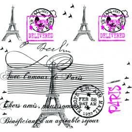 "Mantel de Papel Cortado 1,2x1,2m ""Paris"" 37g (300 Uds)"