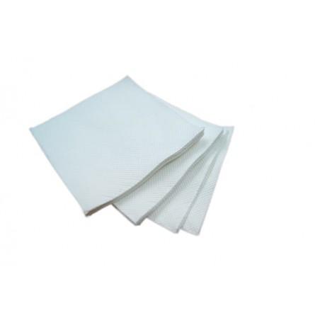 Servilleta de Papel Micropunto 20x20cm 2C Blanco ECO (100 Uds)