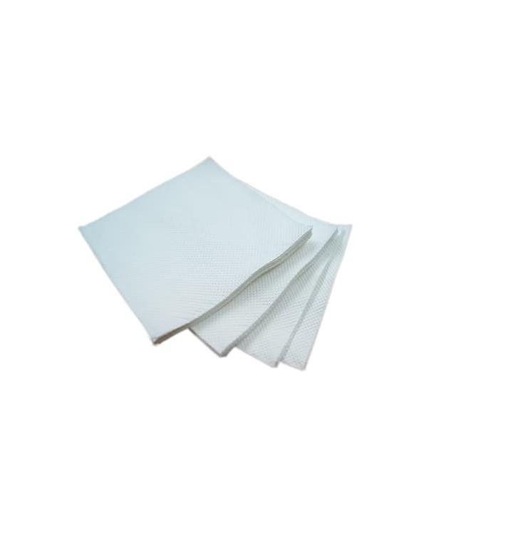 Servilleta de Papel Micropunto 20x20cm 2C Blanco ECO (2400 Uds)