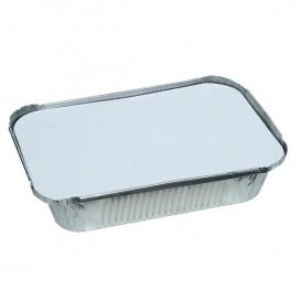 Tapa para Bandeja Aluminio 250ml (100 Uds)