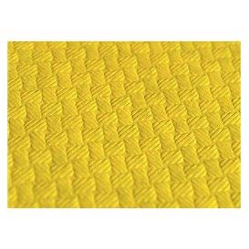 Mantel de Papel Cortado 1,2x1,2 Metro Amarillo 40g (300 Uds)