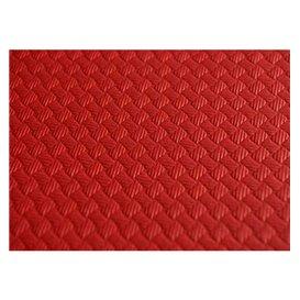 Mantel de Papel Cortado 1,2x1,2 Metro Rojo 40g (300 Uds)