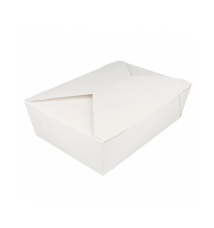 Caja Carton Americana Blanca 197x140x64mm 1980ml (50 Uds)