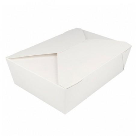 Caja Carton Americana Blanca 19,7x14x6,4cm 1980ml (50 Uds)