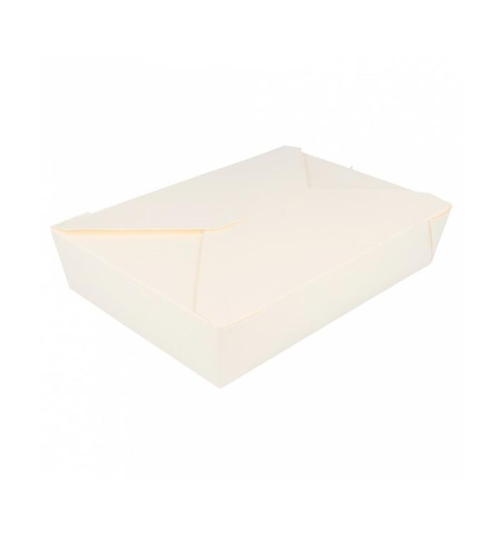 Caja Carton Americana Blanca 197x140x46mm 1470ml (200 Uds)