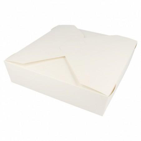 Caja Carton Americana Blanca 21,7x21,7x6cm 2910ml (35 Uds)