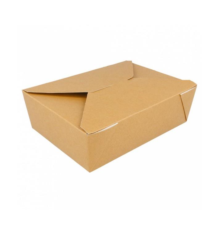 Caja Carton Americana Natural 19,7x14x6,4cm 1980ml (200 Uds)