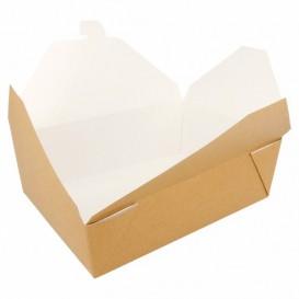 Caja Carton Americana Natural 19,7x14x6,4cm 1980ml (50 Uds)