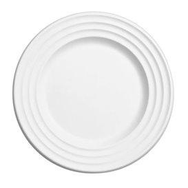 Plato Caña de Azucar Premium Wave Blanco Ø23cm (50 Uds)